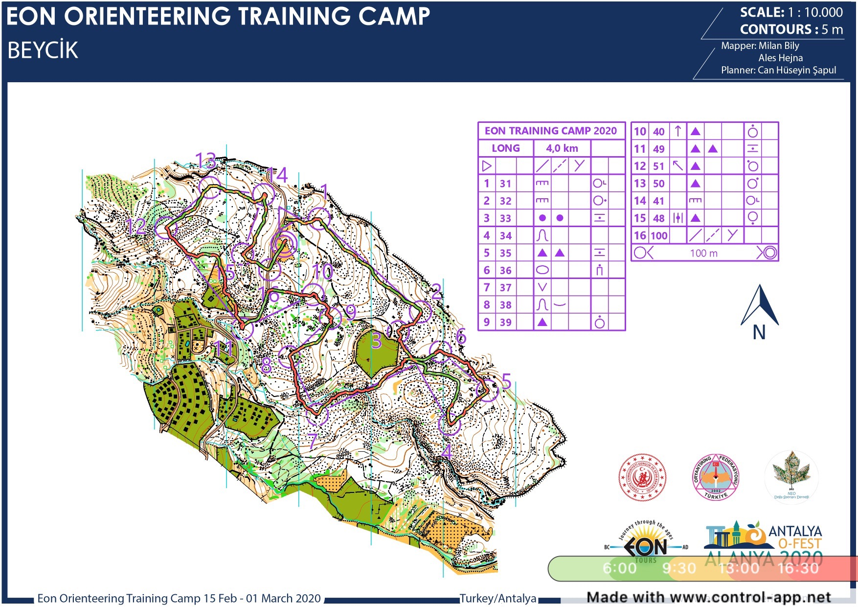EON training camp  (17/02/2020)