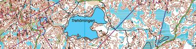 Long orienteering with IFK Lidingo SOK (02/02/2020)